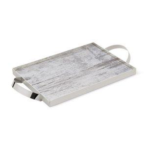 επάργυρος-δίσκος-για-στέφανα-με-ξύλινη-βάση