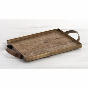 bronze-δίσκος-για-στέφανα-με-ξύλινη-βάση